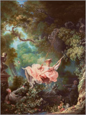 Gallery print  The swing - Jean-Honoré Fragonard