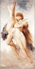 Wall sticker  Cupid and Psyche - William Adolphe Bouguereau