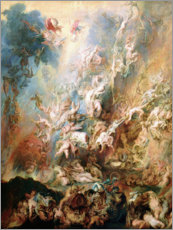Acrylic print  The Fall of the Damned - Peter Paul Rubens