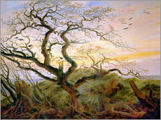 Wall sticker  The Tree of Crows - Caspar David Friedrich