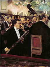 Gallery print  The Opera Orchestra - Edgar Degas
