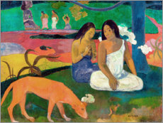 Premium poster  Arearea - Paul Gauguin