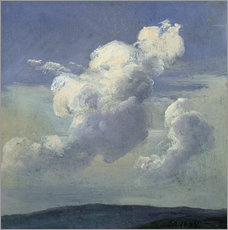 Wall Stickers  Cloud Study - Johan Christian Clausen Dahl