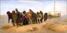 Gallery Print  The Boatmen on the Volga - Ilya Efimovich Repin