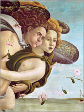Wall Stickers  Zephyr and Chloris - Sandro Botticelli