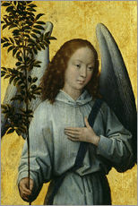 Wall sticker  Angel Holding an Olive Branch - Hans Memling
