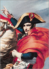 Wall sticker  Napoleon Crossing the Alps - Jacques-Louis David