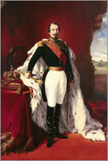 Wall sticker  Portrait of Napoleon III - Franz Xaver Winterhalter