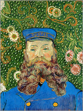 Gallery print  Portrait of the Postman Joseph Roulin - Vincent van Gogh
