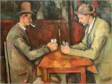 Wall Stickers  The Card Players - Paul Cézanne