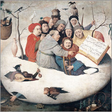 Gallery print  The Concert in the Egg - Hieronymus Bosch