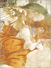 Wall sticker  The Annunciation, detail of the Archangel Gabriel - Sandro Botticelli