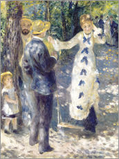 Wall sticker  The Swing - Pierre-Auguste Renoir