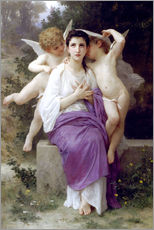 Gallery print  The Heart's Awakening - William Adolphe Bouguereau