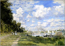 Wall sticker  The Marina at Argenteuil - Claude Monet