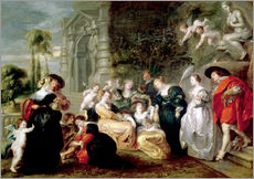 Gallery print  The Garden of Love - Peter Paul Rubens