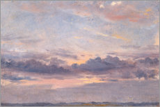 Wall sticker  A Cloud Study - John Constable