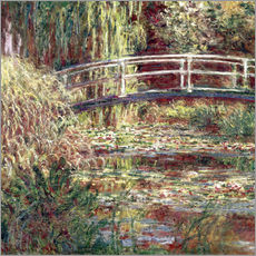 Gallery print  Waterlily Pond: Pink Harmony - Claude Monet