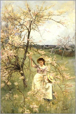 Wall sticker  Spring - Henry George Todd