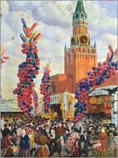 Wall sticker  Easter Market at the Moscow Kremlin - Boris Mihajlovic Kustodiev