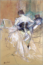 Wall sticker  Woman at her Toilet - Henri de Toulouse-Lautrec