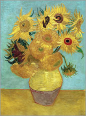 Gallery print  Sunflowers - Vincent van Gogh