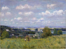 Wall sticker  The Valley of the Seine at Saint-Cloud - Alfred Sisley