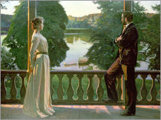 Wall sticker  Nordic Summer Evening - Sven Richard Bergh