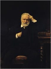 Wall sticker  Portrait of Victor Hugo - Leon Joseph Florentin Bonnat