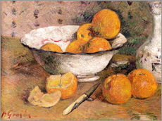 Gallery print  Still life with Oranges - Paul Gauguin
