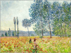 Canvas print  Sous les Peupliers - Claude Monet
