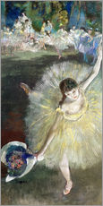Gallery print  End of an Arabesque - Edgar Degas