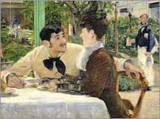 Wall sticker  The Garden of Pere Lathuille - Edouard Manet