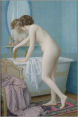 Wall sticker  Young woman takes a bath - Jules Scalbert