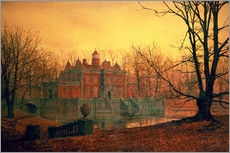 Gallery print  The Haunted House - John Atkinson Grimshaw