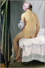 Gallery Print  The Bather - Jean Auguste Dominique Ingres