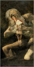 Wall Stickers  Saturn Devouring one of his Children - Francisco José de Goya