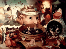 Wall sticker  Tondal's Vision - Hieronymus Bosch