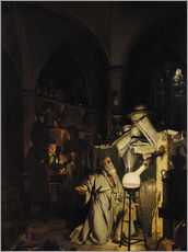 Wall sticker  The Alchymist - Joseph Wright of Derby