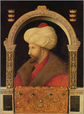 Wall sticker  The Sultan Mehmet II - Gentile Bellini