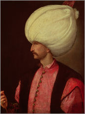 Wall sticker  Suleiman II - Italian School