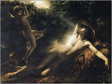 Gallery print  The Sleep of Endymion - Anne Louis Girodet de Roucy-Trioson
