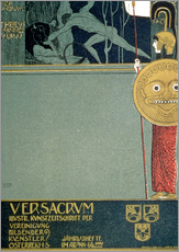 Wall Stickers  Cover of Ver Sacrum - Gustav Klimt