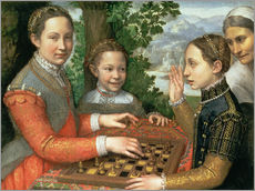 Gallery print  Game of Chess - Sofonisba Anguissola