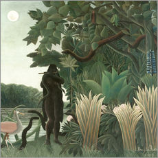 Wall sticker  The snake charmer - Henri Rousseau