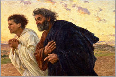 Gallery print  The disciples Peter and John - Eugene Burnand