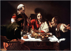 Gallery print  The Supper at Emmaus - Michelangelo Merisi (Caravaggio)