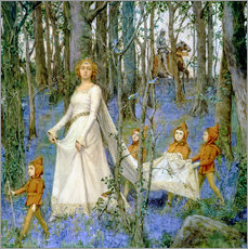 Gallery Print  The Fairy Wood - Henry Meynell Rheam