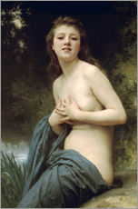Gallery Print  Springbreeze - William Adolphe Bouguereau