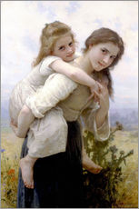 Wall Stickers  Not hard to bear - William Adolphe Bouguereau